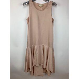 Maeve Camellia Blush Drop Waist Dress